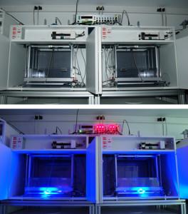 Intégration de l'optogénétique dans notre système
