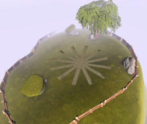 Radial virtuel vue aérienne imetronic