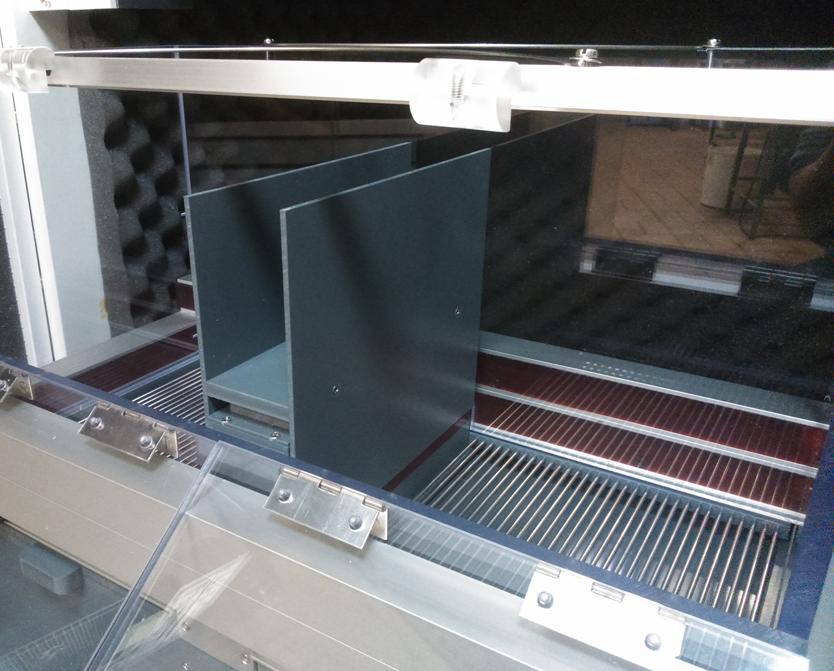 Appareil en Mode Fear Conditioning - 2 compartiments indépendants pour la mesure du Freezing
