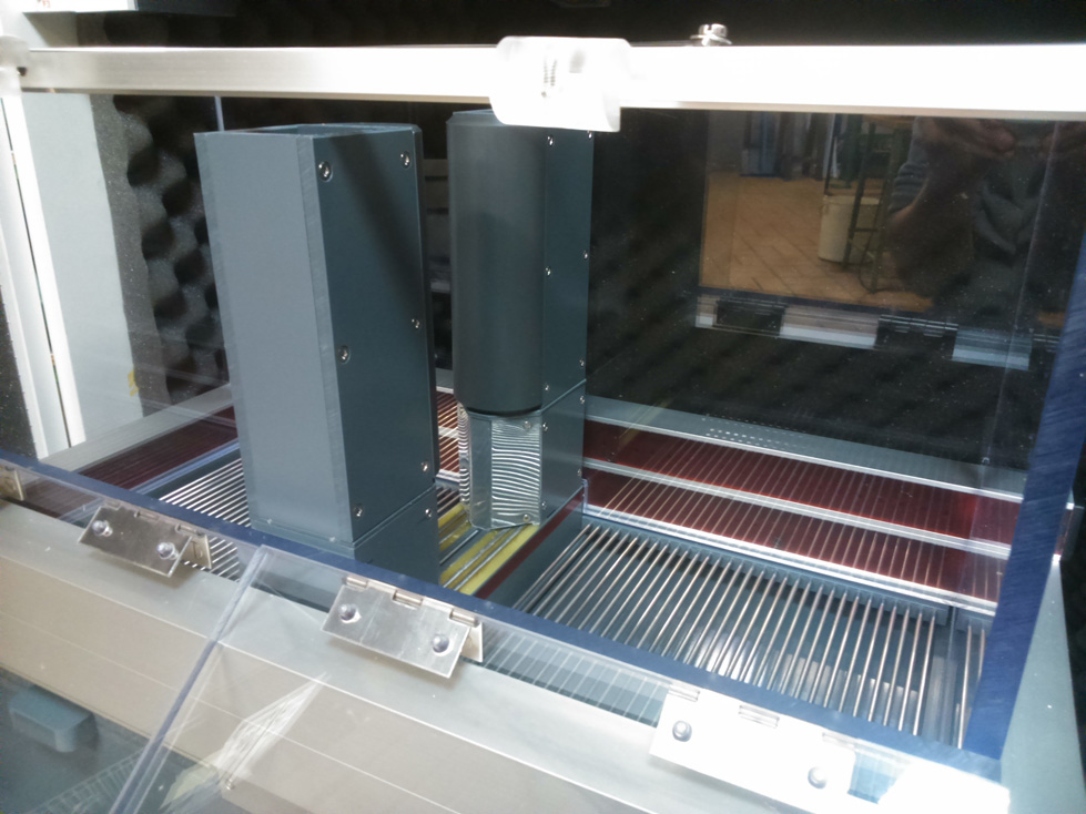 Appareil en Mode Shuttle box - 2 compartiments séparés par une porte automatisée