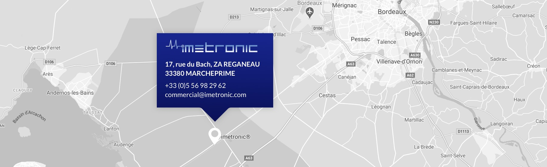 Map Imetronic
